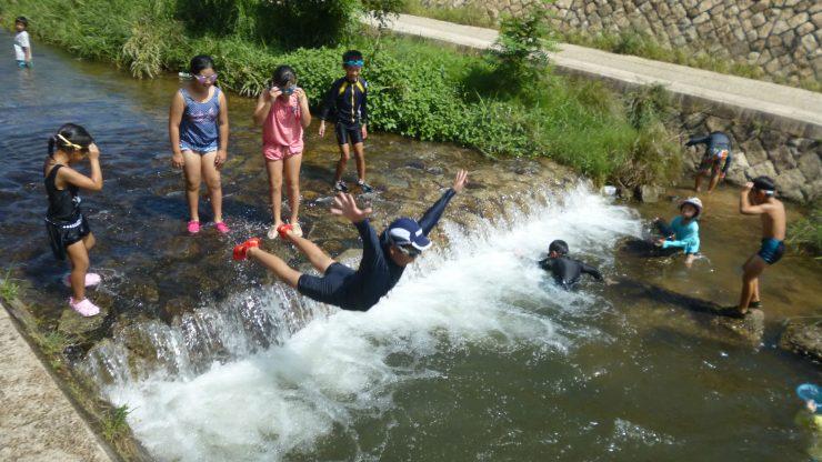 川遊び を開催しました🎣のアイキャッチ画像